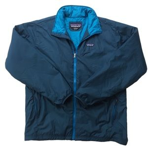 Patagonia Puffy Lined Zip Up Bomber Jacket
